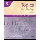 Read Reading for Today Series 5 - Topics for Today (3rd, 04) by Smith, Lorraine C - Mare, Nancy Nici [Paperback (2004)] PDF, azw (Kindle), ePub