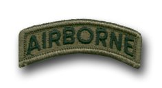 - US ARMY AIRBORNE SUBDUED 3/4