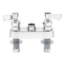 Fisher 4'' Deck Control Valve, Polished Chrome, 3500 by Fisher