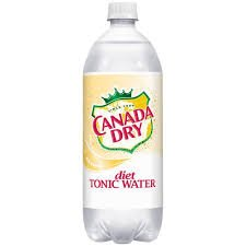 Canada Dry Tonic Water (Canada Dry, Diet Tonic Water with Quinine, 1 Liter Pack of 12)