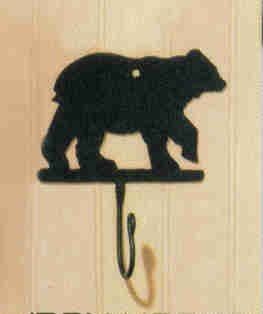 Park Designs Bear Iron Hook (Moose Hook)
