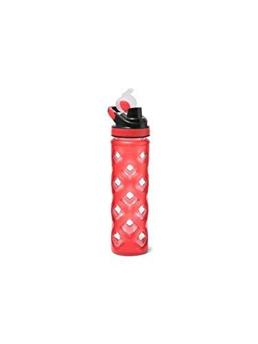 (Eddie Bauer Unisex-Adult Blocktagon Bottle - 22 oz, Red Regular ONESZE)