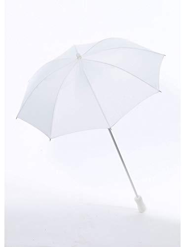 Rubie's Costume Co Silk Parasol Costume, White, -