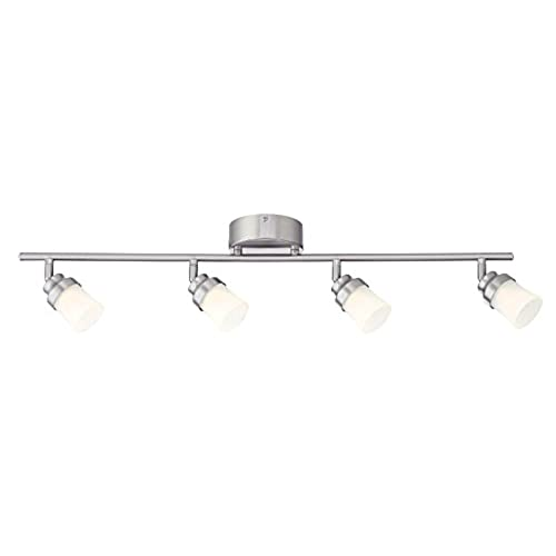 Kitchen Track Lighting Amazoncom - Brushed steel kitchen ceiling lights