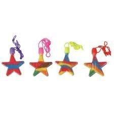 Rhode Island Novelty, Star Shaped Sand Art Bottle Necklaces ()
