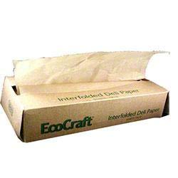 Bagcraft Eco-Craft Eco-Wax NK10 Deli Paper - 10'' x 10 3/4'' - 500 sheets (Case of 12)