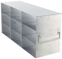 Alkali Scientific UF-333 Stainless Steel Cryostorage Box Rack for 3