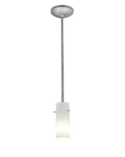 Brushed Stainless Steel Cylinder Pendant Light Shade in Florida - 5