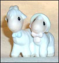 Precious Moments Noah's Ark Two By Two Goats