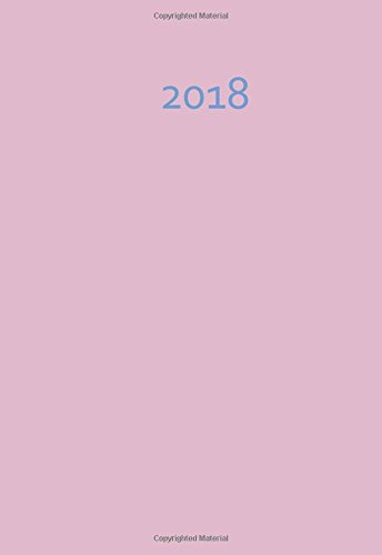 Download Mini-Kalender 2018 - altrosa / rosa ca. DIN A6 (German Edition) pdf epub