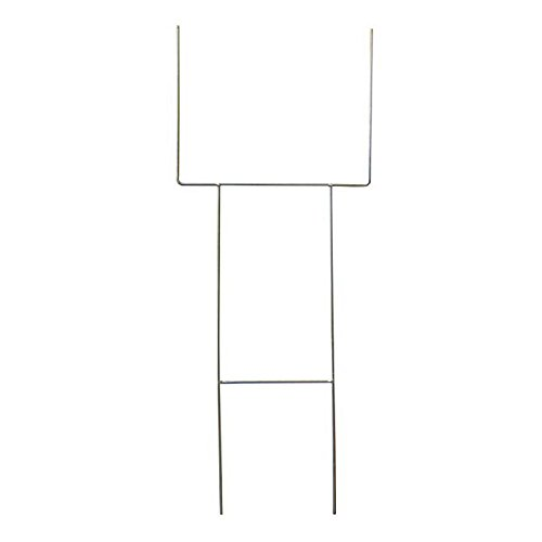 MTB H Frame Wire Stakes 30''x10'' 9ga Metal Heavy Duty, Yard Sign Stakes - Pack of 10 by MTB