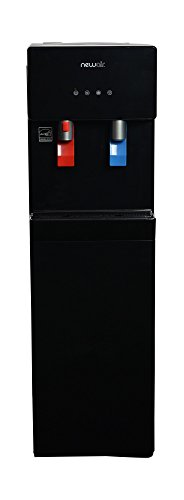 NewAir WAT40B Pure Spring BPA Free Hot & Cold Bottom Loading Water Dispenser, Black by NewAir