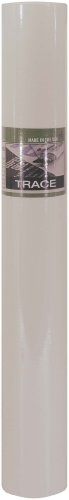 Pro Art 14-Inch by 50-Yards Sketch Paper Roll, White Color by PRO ART