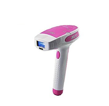 Electric hair removal device Laser hair removal instrument Light hair removal system Laser pulse technology Precise positioning of melanin inhibits hair growth in hair follicles (Pink)
