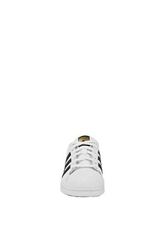 adidas Originals Women's Superstar W Fashion Sneaker, White/Black/White, 8 M US
