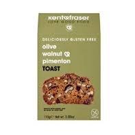 Kent & Fraser Gluten Free Olive Walnut & Pimenton Toast (6 x 110g)