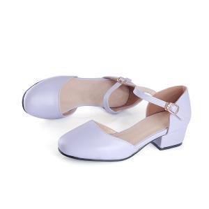 hexiajia - Zapatos Planos con Cordones de Material Sintético mujer