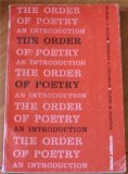 The Order of Poetry, Edward A. Bloom, Charles H. Philbrick, Elmer M. Blistein, 0672630788