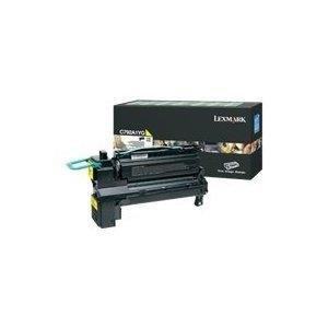 Lexmark X792 Print - Lexmark X792 Yellow Extra High Yield Print Cartridge (20 000 Yield) - Genuine Orginal OEM toner