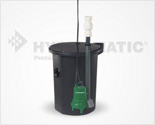 Sewage Ejector Pump Basin Package - 4