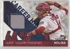 #5: Yadier Molina (Baseball Card) 2015 Topps - Career High Relics #CRH-YM