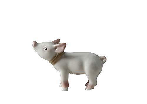 Babe Piglet Little Pig Lomonosov Porcelain Figurine (Porcelain Pigs)