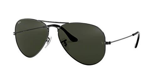 Ray Ban RB3025 W0879 58M Gunmetal/ Gray Green Aviator