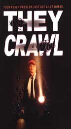 They Crawl [VHS] (Maxima Cool)