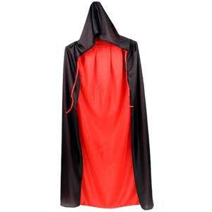 LIYZU Black Red Reversible Dress Goth 48