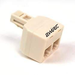 Amazon.com: 2WIRE Dual Jack Phone Splitter Adapter: Electronics