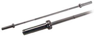 York Barbell 32115 5 Int L. Chrome Bar 28 Mm