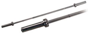 York Barbell 32115 5 Int L. Chrome Bar 28 Mm