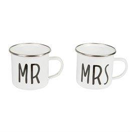 Mramp; Weddingcouple Mrs Gardening Mugs Mug For Metal 2 Glamping And campingOutdoor Enamel Set JTF1Klc
