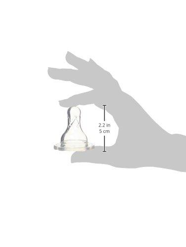 Tetinas de silicona est/ándar nivel 1 Browns 302 Dr