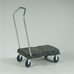 Triple Trolley, 500-lb Cap, 20-1/2w x 32-1/2d x 7h, Black (Trolley Triple)