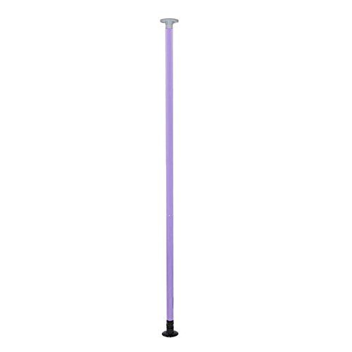 Portable Dancing Pole 50mm Stripper Pole Dance Kit Purple by LASHOP