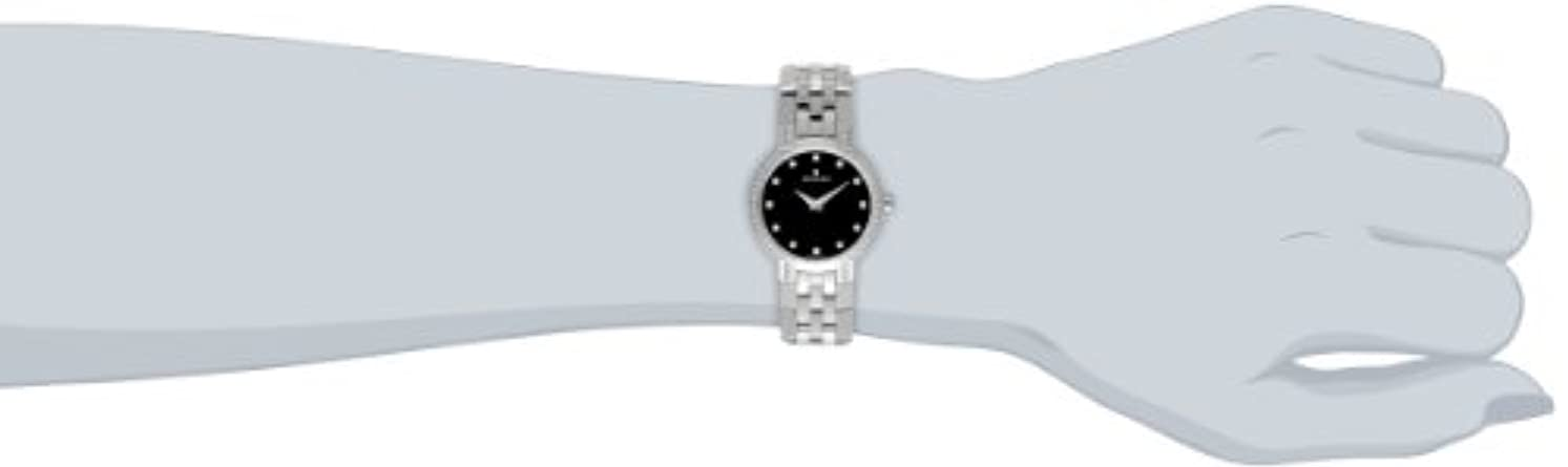 Movado Women s 605586 Faceto Stainless Steel Watch with Diamonds