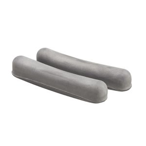 Special Pack of 5 CRUTCH CUSHION G00018 PR GREY by Med-Choice