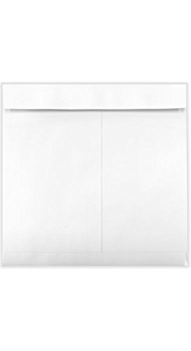 13 x 13 Square Calendar Envelopes - 28 lb. White (50 Qty.) | Perfect for Calendars, Jumbo Cards, Catalogs, Business Mailings and so much more! | (Special Event Catalog)