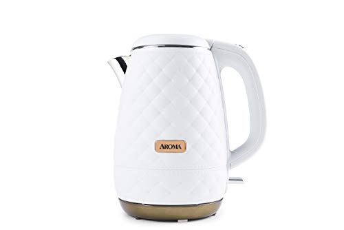 Aroma Professional AWK-3000 Surgical Grade 316 Stainless Steel Electric Water Kettle 1.2L White