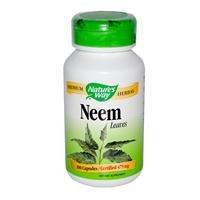 Natures Way Neem Leaf 100 Vegetable Capsule  100 Ct