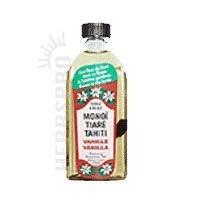 Monoi Tiare Tahiti Coconut Oil - Monoi Tiare Tahiti Coconut Oil Vanilla - 4 Oz, Pack of 3