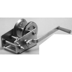 SEACHOICE 52191 Marine Trailer Winch 1,200 lb with Strap and Spring Hook