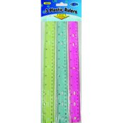 Ddi 3 Pack Ruler Set (Pack Of 48)