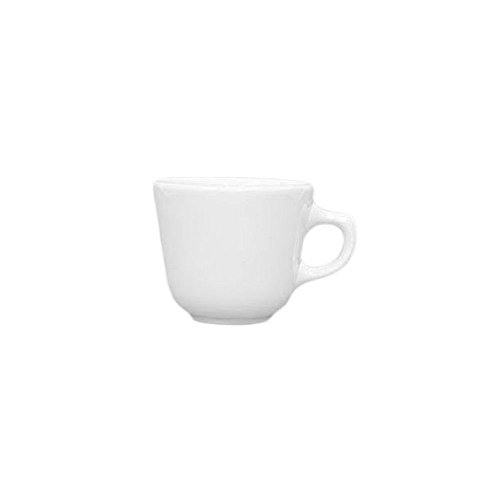 Homer Laughlin China 10400 Undecorated 7 Oz. Texas Cup - 36 / CS
