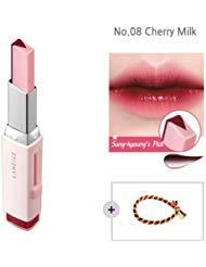 Laneige Two Tone Tint Lip Bar 0.07oz(2g) No.08 Cherry Milk