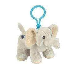Webkinz Plush Kinz Klip Velvety Elephant by Webkinz ()