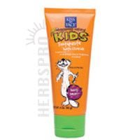 Kiss My Face Gentle Toothpaste with Fluoride for Kids – 4 oz – Berry Smart