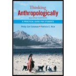 Read Online Thinking Anthropologically - A Practical Guide for Students (2nd, 08) by [Paperback (2007)] PDF