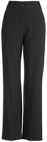 Counterparts Womens Bi-Stretch No Gap Pants 16 Black